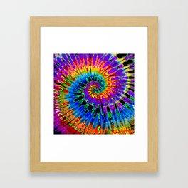 Spun Out Hippie Framed Art Print