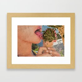 Lick it Framed Art Print
