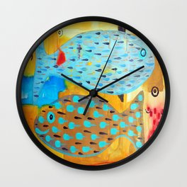 Who's looking? Wall Clock