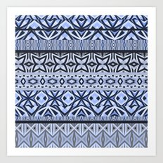 Tribal Pattern #4 Art Print