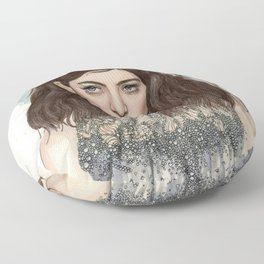 Lorde @ the Oscars Floor Pillow