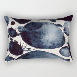 Black Study Rectangular Pillow