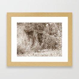 Cart Framed Art Print