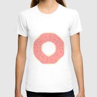 doughnut T-shirts featuring #93 Doughnut by MNML Thing