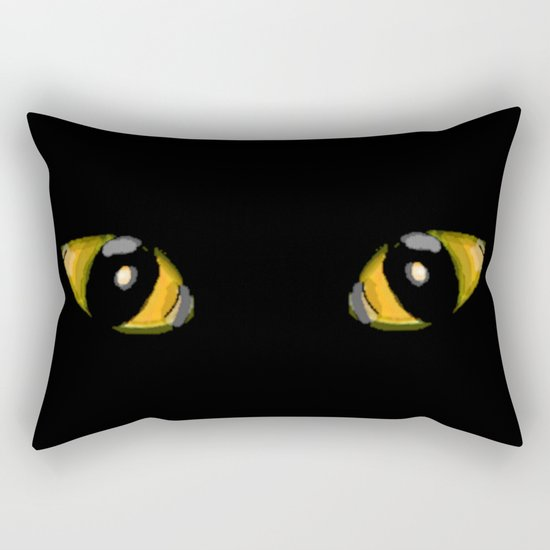Cats Eyes Rectangular Pillow