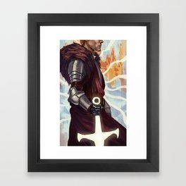 Cullen Rutherford Poster Framed Art Print