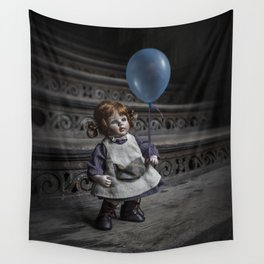 Blue baloon Wall Tapestry