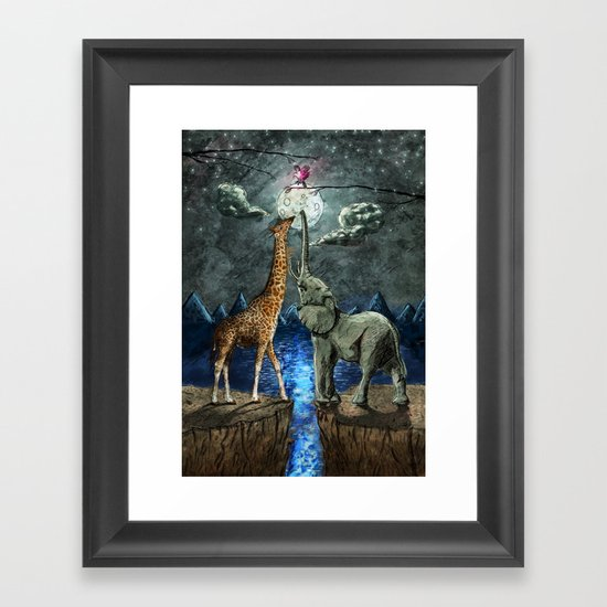 The Magical Forces of the Moon Framed Art Print
