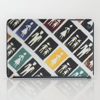 mad men iPad Cases featuring Mad men by WeLoveHumans