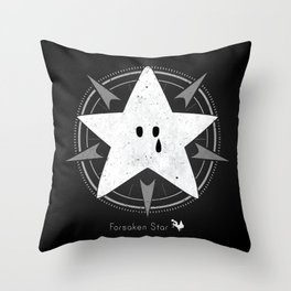 Crying star Throw Pillow