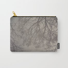 her reflection in the mirror clear Carry-All Pouch