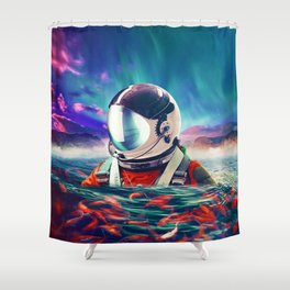 Belongingness Shower Curtain