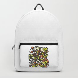 Abstract Art Graffiti Art Drawing Psychedelic Gift Backpack