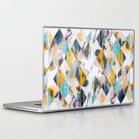 diamonds Laptop & iPad Skins featuring Diamonds by James McKenzie