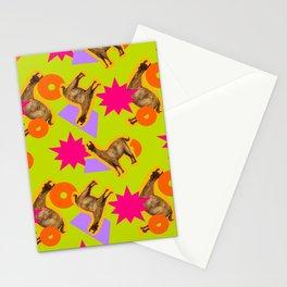 Mango Llama Lime Stationery Cards