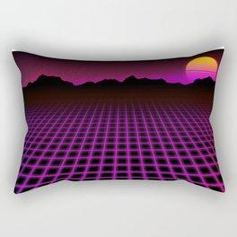 80s Vibes Rectangular Pillow
