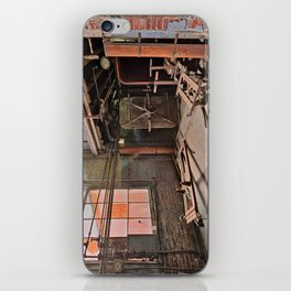 Abandoned Lonaconing Silk Mill iPhone Skin