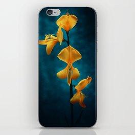 yellow beauty iPhone Skin