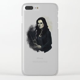 Meg Masters Clear iPhone Case
