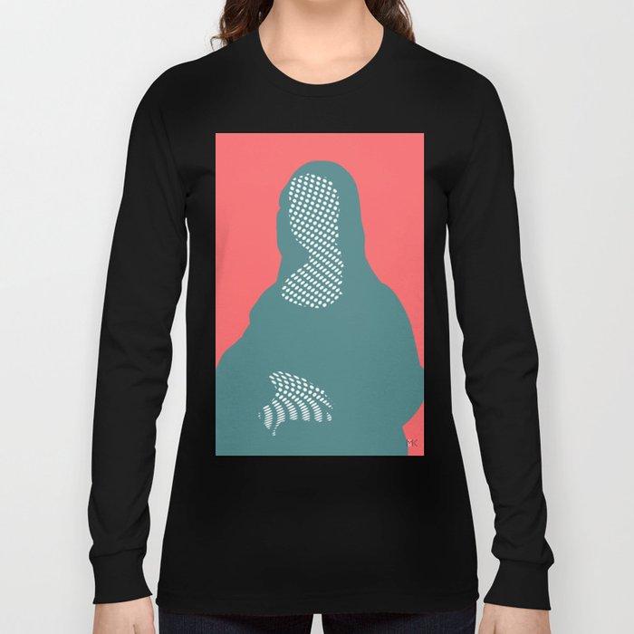 Mona, nu mach aber mal ein Punkt ·6 Long Sleeve T-shirt