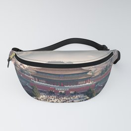 Historically Charged Forbidden City Beijing China Asia Ultra HD Fanny Pack