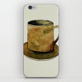 Mug on Plate iPhone Skin