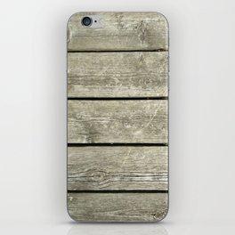 Wood Deck 2 iPhone Skin