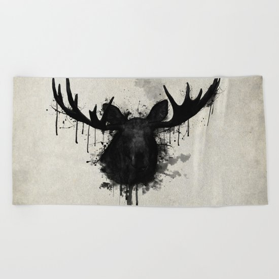 Moose Beach Towel