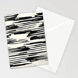 Rough Brush on Ivory Stationery Cards