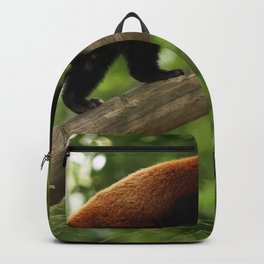 Happy Red Panda. Backpack