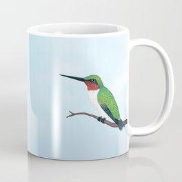 the studious male (ruby-throated hummingbird) Coffee Mug