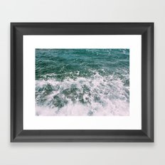 Deep Blue Sea II Framed Art Print