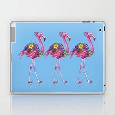 Fancy Felicity Flamingo (Blue) Laptop & iPad Skin