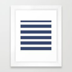 NAVY Nautical Framed Art Print