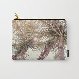 Sunny San Diego Day with Palm Trees Carry-All Pouch