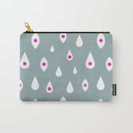 EYES VI (turquoise) Carry-All Pouch