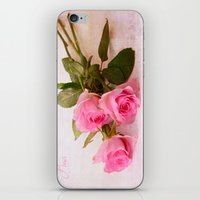 roses iPhone & iPod Skins featuring Roses by Fine Art by Rina
