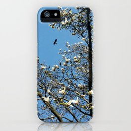 sky in spring iPhone Case