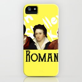 The Romantics (yellow) iPhone Case