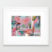 glitch Framed Art Prints featuring Glitch by autumndellaway