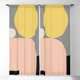 Minimal Geometric 79 Blackout Curtain