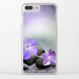 evergreen blossoms -1- Clear iPhone Case