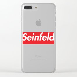 Seinfeld Clear iPhone Case
