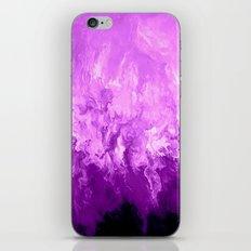Purple Fluid Art iPhone & iPod Skin