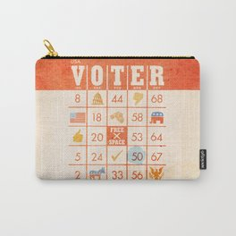 The Bingo Vote Carry-All Pouch