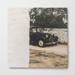 French car, Traction Avant, fine art photography, old auto, classic auto, supercar, executive car Metal Print