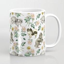 DOG ROSE & CAVALIER KING CHARLES SPANIEL  Coffee Mug