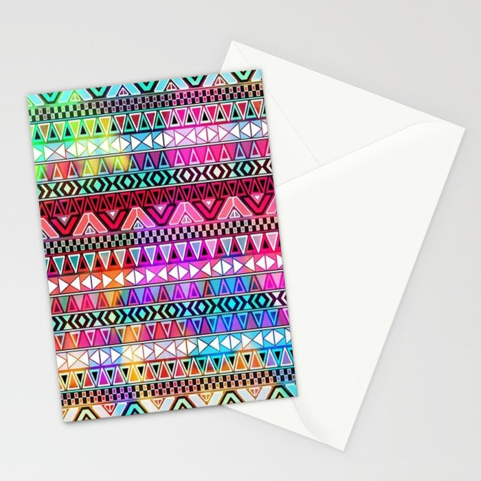 Colorful Tribal best decoration design ideas Stationery Cards by  rzuanshahwal