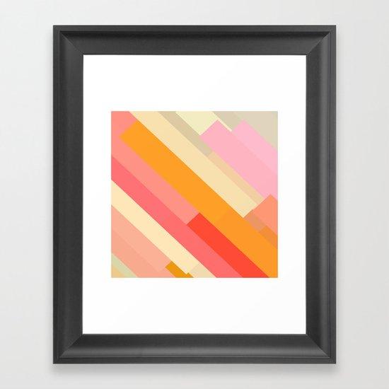 color story - sprinkles Framed Art Print