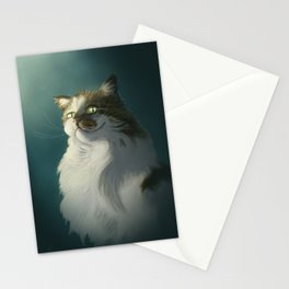 Sly cat Stationery Cards